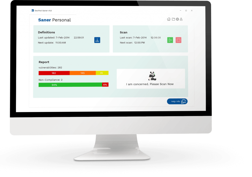 Saner Personal for detecting vulnerabilities and patch updates
